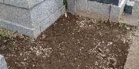 墓石の撤去工事