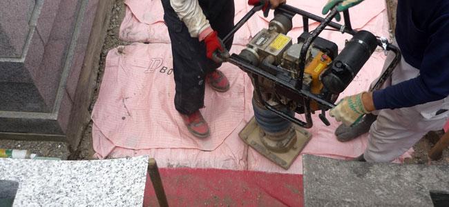 耐震対策地盤工事