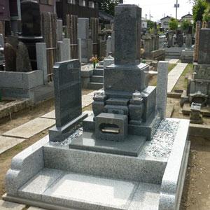 654幸手和型墓石