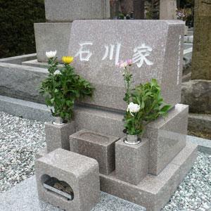 663洋型墓石建墓例