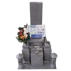 庵治石和型墓石