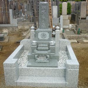 アーバングレー和型墓石