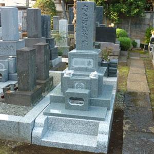 インド銀河和型墓石