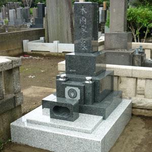 北大青和型墓石