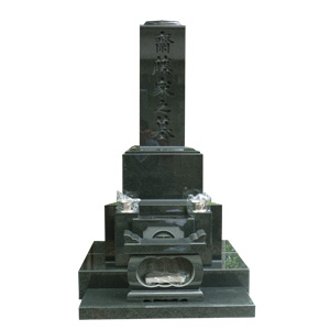 河北山崎和型墓石