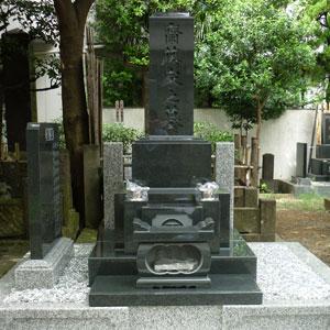 河北山崎和型墓石建墓例2