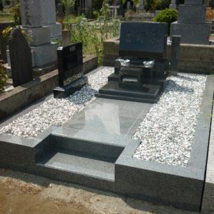 インドクンナム洋型墓石