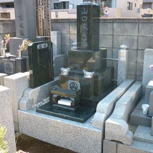 インド緑和型墓石
