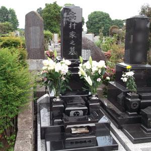 MU和型墓石