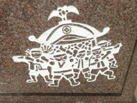 おみこしの彫刻