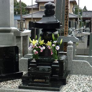 クンナム 五輪塔の建立例2