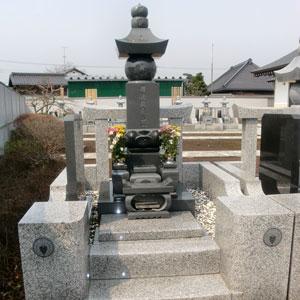 インド山崎 五輪塔の建立例1