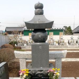 インド山崎 五輪塔の建立例2
