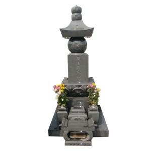 インド山崎五輪塔
