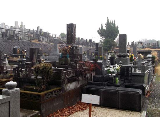 浦山墓園3