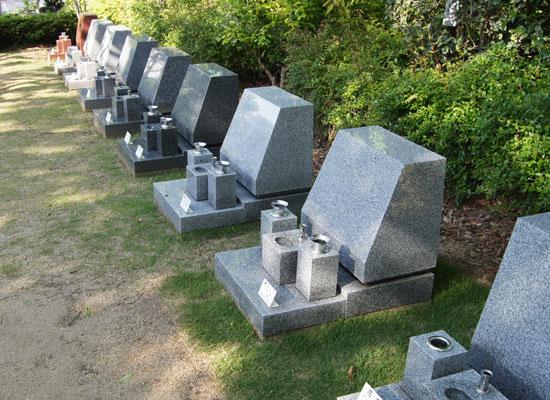 泉南メモリアルパーク墓石見本1