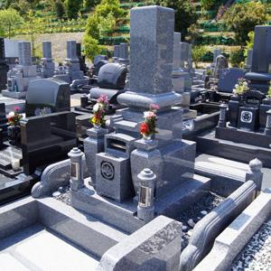 大島石和型墓石