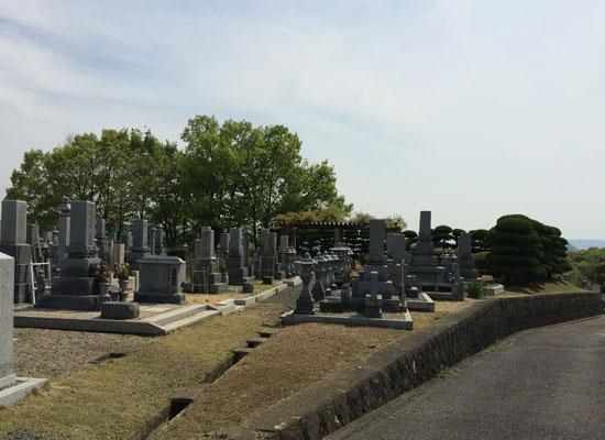 総社市新長砂墓地2