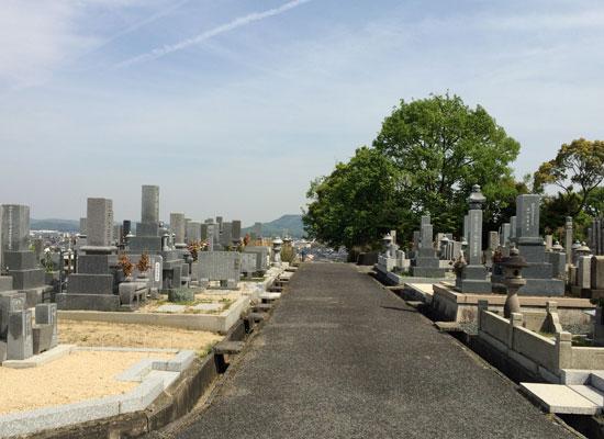 総社市新長砂墓地3