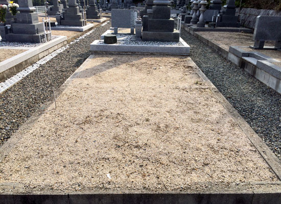 西辛川墓地3