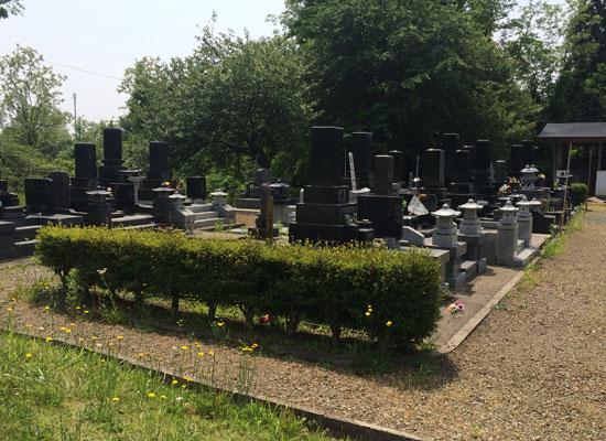 西仙北墓地公園1