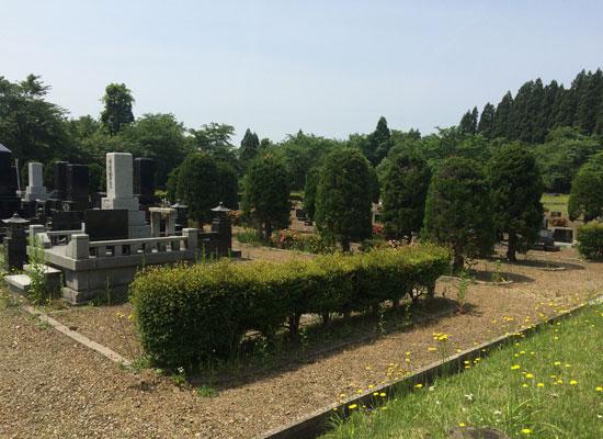 西仙北墓地公園2