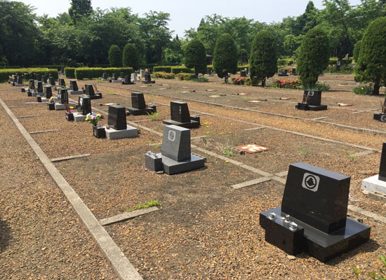 西仙北墓地公園3
