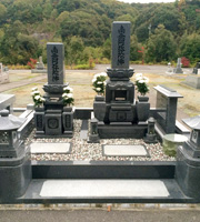 島根のセット墓石イメージ