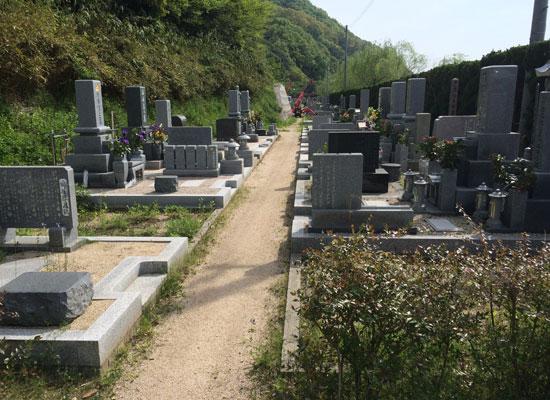 下山墓地4
