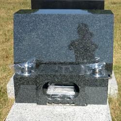 北大青洋型墓石