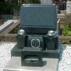 インド緑洋型墓石