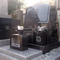 インド山崎洋型墓石