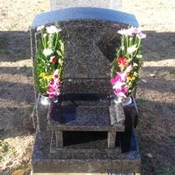 インパラブルー洋型墓石