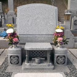 大島石洋型墓石