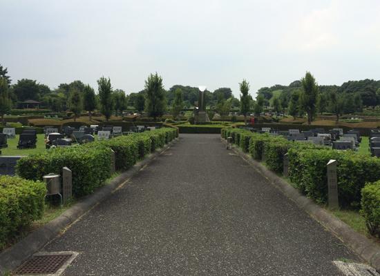 新座市営墓園中心