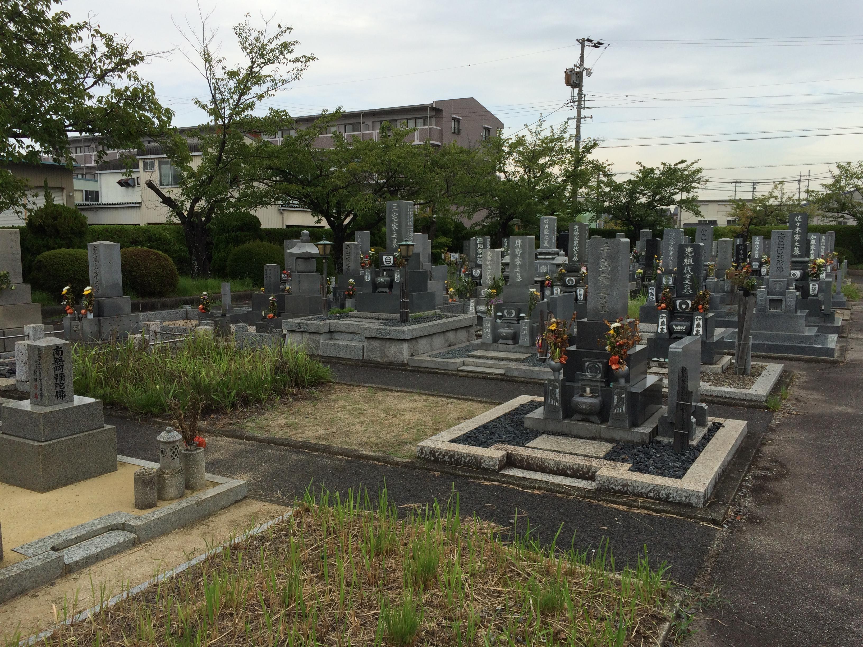 青山斎園墓園全景