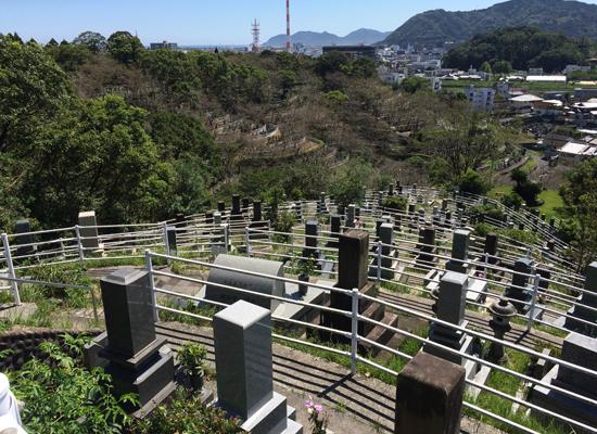 岡富公園墓地