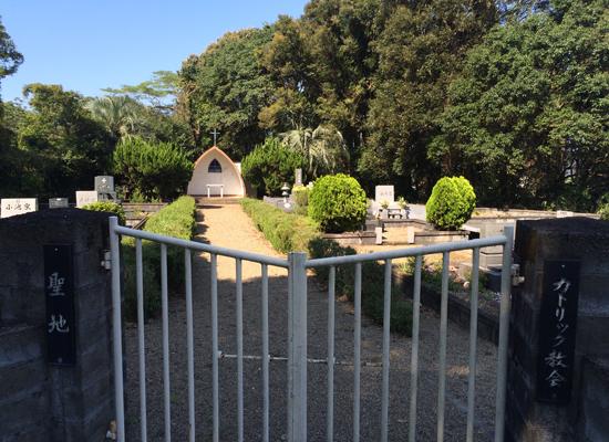 上ノ宮墓地