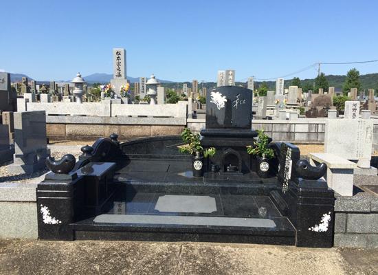 白馬墓地建立例