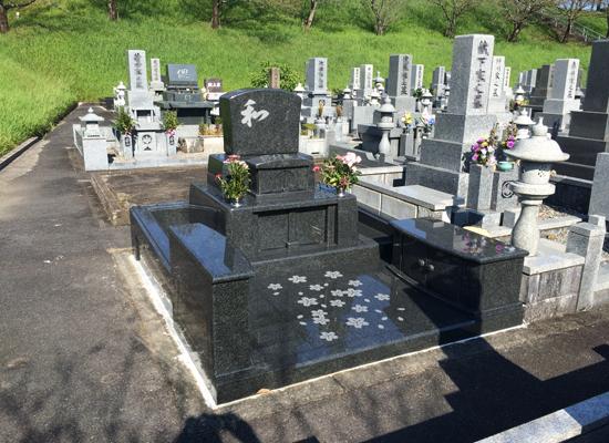 宮崎みたま園墓石建立例